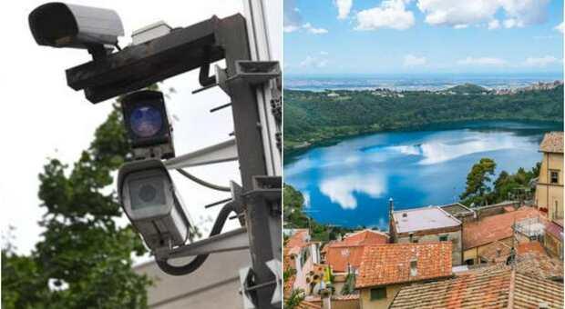 A Nemi arrivano le telecamere di videosorveglianza, installate le prime undici