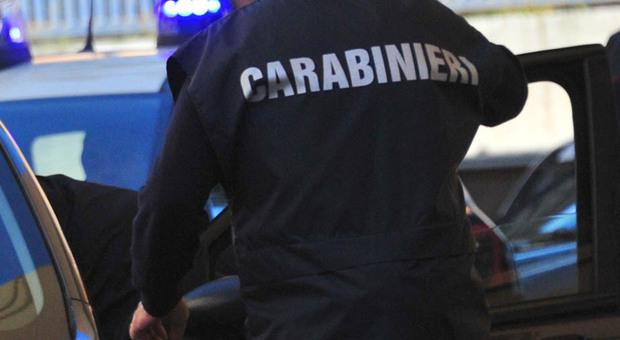 L'uomo è stato fermato dai carabinieri