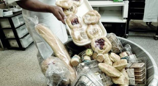 La Capitale e il cibo sprecato: 29mila tonnellate ogni anno