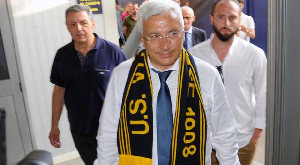 Il presidente Romano