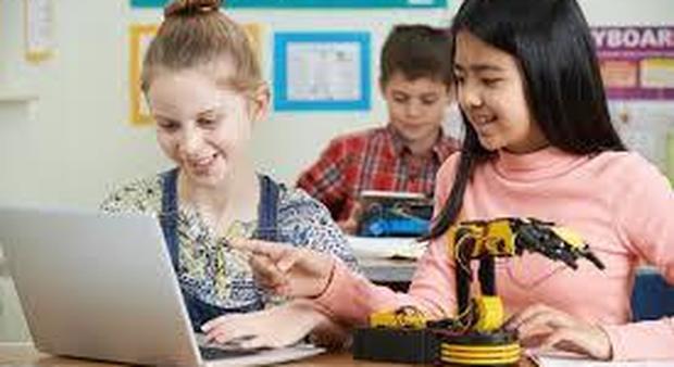 Allenamenti di coding nelle scuole