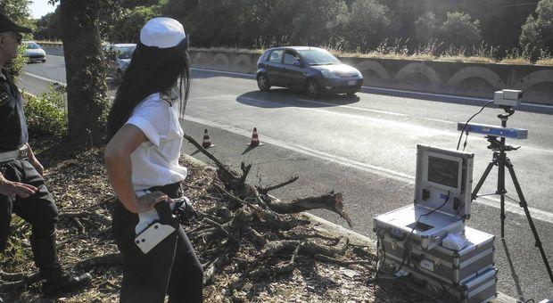 Roma, ecco i super autovelox: vedono le infrazioni anche da un chilometro