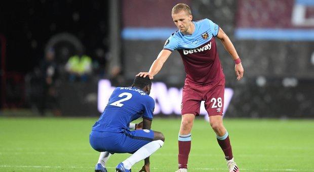 Soucek consola Rudiger a fine match