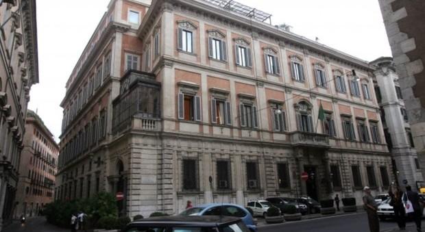 immagine Roma, a Palazzo Grazioli spunta un cartello
