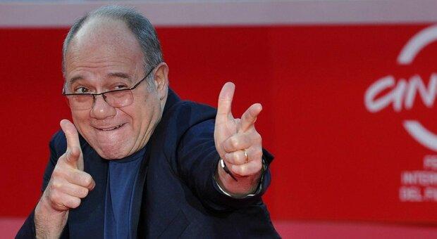 Verdone, Mattarella telefona all'attore per i 70 anni: «Grazie per ciò che ha donato agli italiani»