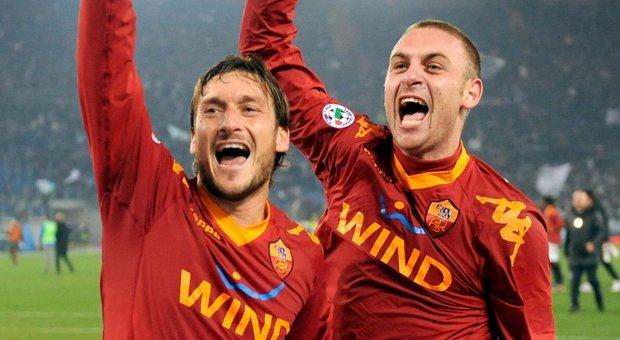Roma, Totti saluta De Rossi: «Sei il mio fratello acquisito. Oggi è un giorno triste»