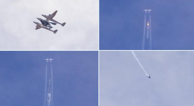 Virgin Galactic diretta del decollo dalle 16: verso l'era del turismo spaziale di massa Italiana in fila con Leo DiCaprio Spazioporto a Grottaglie