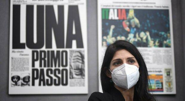 Raggi al Messaggero per i 150 della Capitale: «Roma sia priorità del nuovo esecutivo»