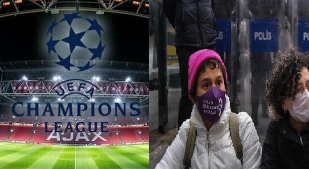 Finale di Champions, Uil lancia una petizione per spostare la sede: «In difesa dei diritti delle donne»