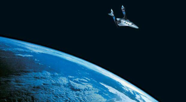 Virgin Galactic, piloti dell'Aeronautica militare italiana presto in orbita con lo spazioplano di Richard Branson