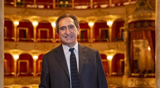 Il sovrintendente del Teatro dell'Opera di Roma Carlo Fuortes