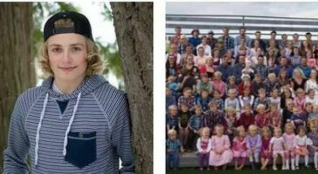 Merlin Blackmore cresciuto in una setta mormone: «Papà, le sue ventisette  mogli e i miei 149 fratelli», la sua storia diventa virale