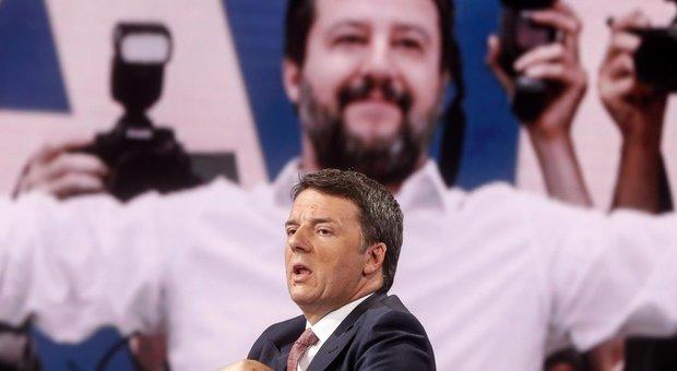 """Renzi lancia """"Italia viva"""" e sfida Salvini in tv. Zingaretti: «Ora pensiamo al futuro»"""
