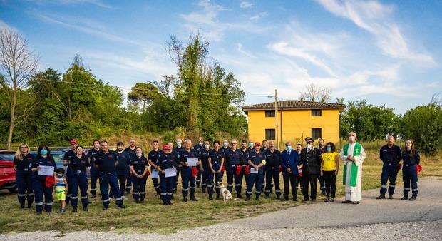 Otricoli, trentasei nuovi volontari della Protezione Civile per contrastare la pandemia