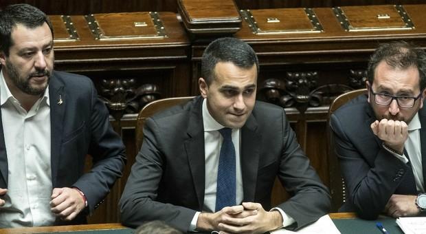 Salvini, Di Maio e Bonafede
