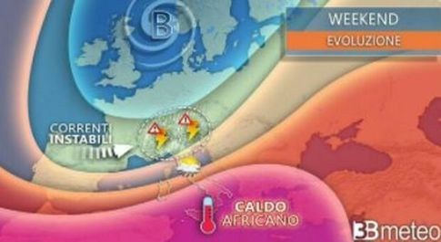 Meteo, bollino rosso in 6 città: «Temperature a oltre 40 gradi»