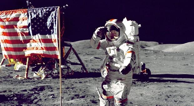 Eugene Cernan sulla Luna