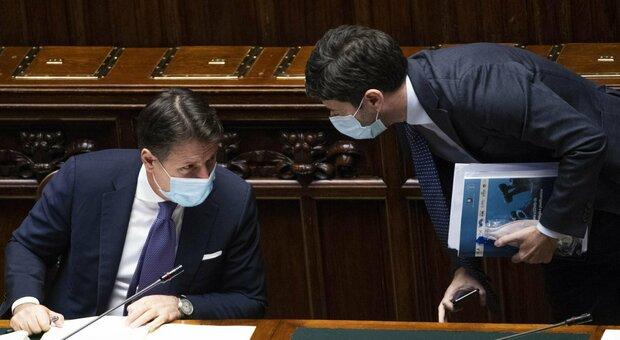 Giuseppe Conte e Roberto Speranza