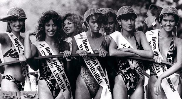 Vendita Costumi Da Bagno Vintage : Miss italia dal vintage glam del al bikini castigato del