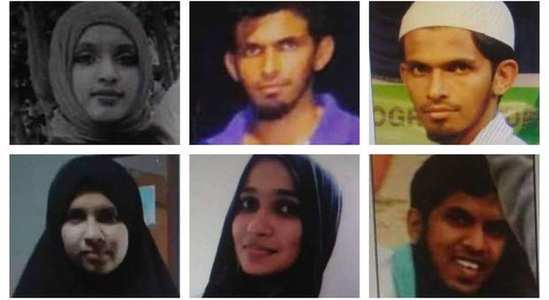 Padre, due fratelli dello Sri Lanka, bombaroli suicidi uccisi in una sparatoria