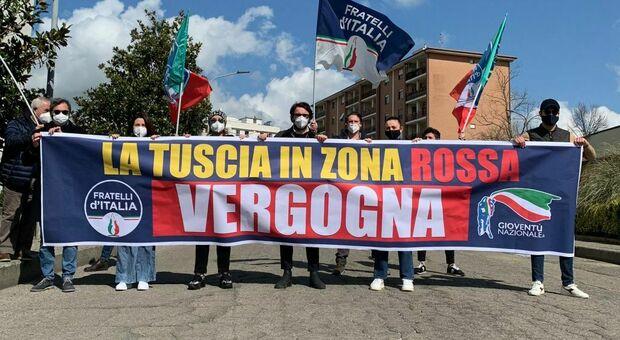 No alla zona rossa per la provincia di Viterbo? Barelli: «Speculazioni, serve più responsabilità»
