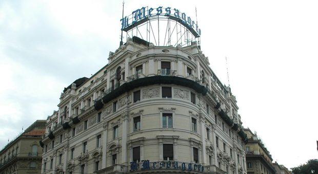 Il Messaggero compie 140 anni, festa a Cinecittà con Mattarella. Cusenza: «Un giornale popolare con Roma al centro»
