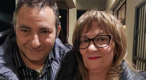 Le vittime Rocco Bava e la compagna Francesca Petrolini