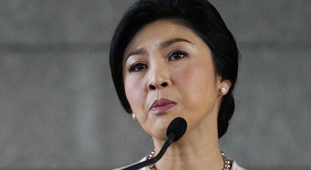La premier thailandese Yingluck Shinawatra