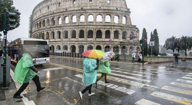 Maltempo, forti temporali e fulmini sul Lazio