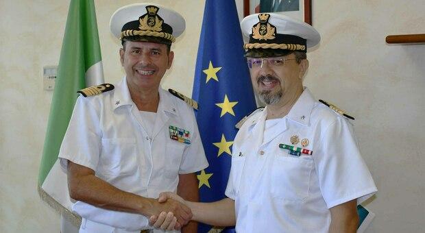 Giuseppe Strano, capitano di vascello, neo-comandante della Capitaneria di porto di Roma
