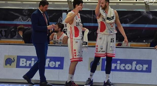 Righetti, Visentin e Paci (foto Ufficio stampa Real Sebastiani)
