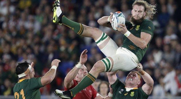 Rugby, Mondiali: da Nadia Comaneci a Mandela, la Storia nella finale Inghilterra-Sudafrica