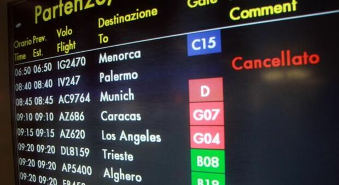 Trasporto aereo, proclamate 4 ore di sciopero venerdì 18 giugno