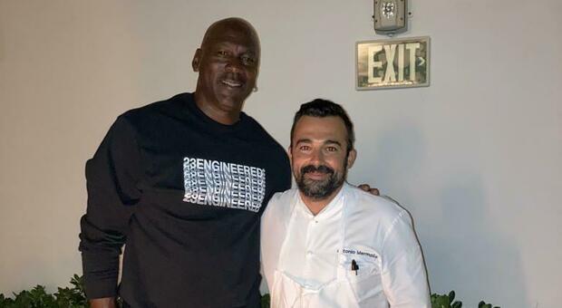 Jordan con l'ex play di Scauri, Mermolìa