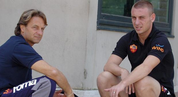 Alberto e Daniele De Rossi (foto Tedeschi)