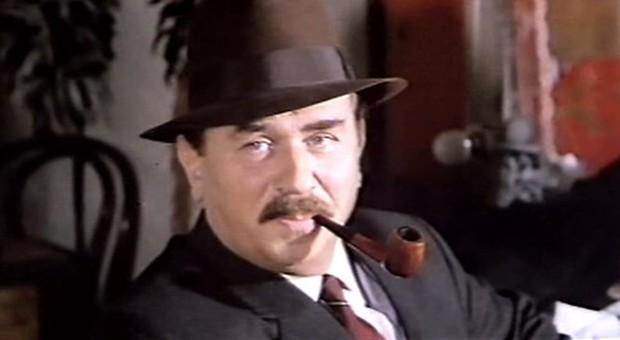 Gino Cervi nel ruolo di Maigret