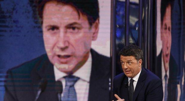 Governo, Renzi a Conte: «Niente divisioni su politica europea». Salvini: «Se hanno dignità si voti»