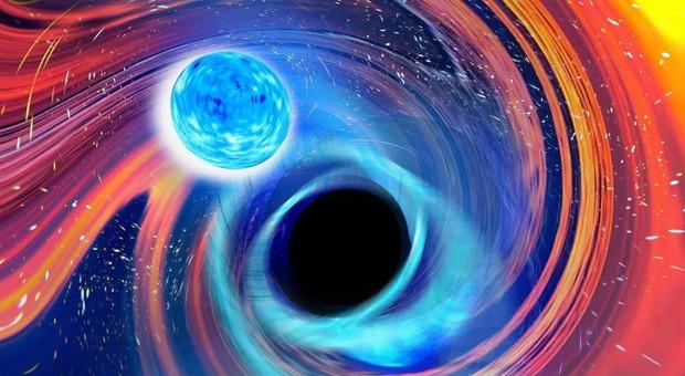 Onde gravitazionali, nuova scoperta: osservata la prima fusione tra un buco nero e una stella di neutroni