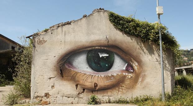 Il murales di Atina