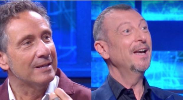 """I Soliti Ignoti, Mario Tozzi """"interrompe"""" il gioco e imbarazza Amadeus. Ecco cosa è successo"""