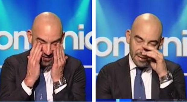 Matteo Bassetti a Domenica In piange per la madre morta: «Mi aiuterà da lassù». Mara Venier commossa
