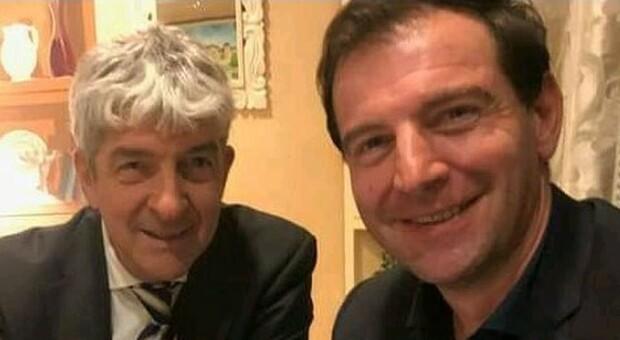 Paolo Rossi e, a destra, Aurelio Capaldi