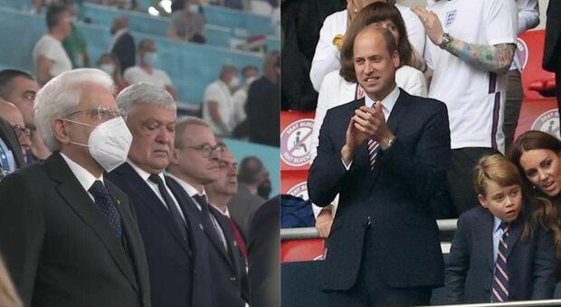 Finale Euro 2020, a Wembley Mattarella, il principe William e tante star saranno presenti sugli spalti