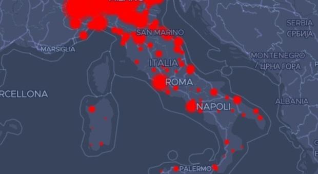 Virus: Valle d'Aosta, Piemonte e Lombardia con la maggiore incidenza sulla popolazione