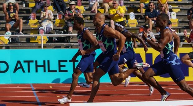 Atletica, Jacobs è secondo con il tempo di 10'05 a Stoccolma