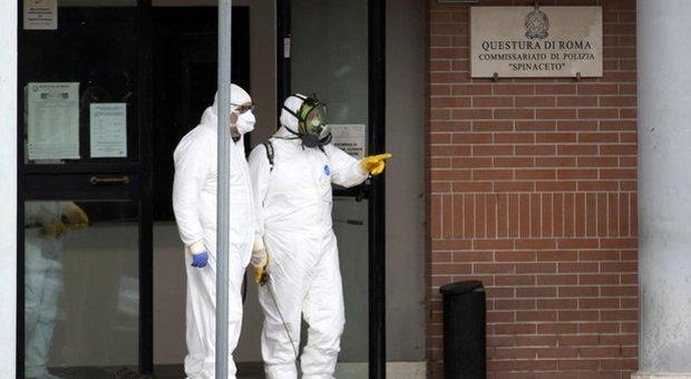 Coronavirus, l'agente di Pomezia ora è grave: «Stava già male a inizio febbraio»