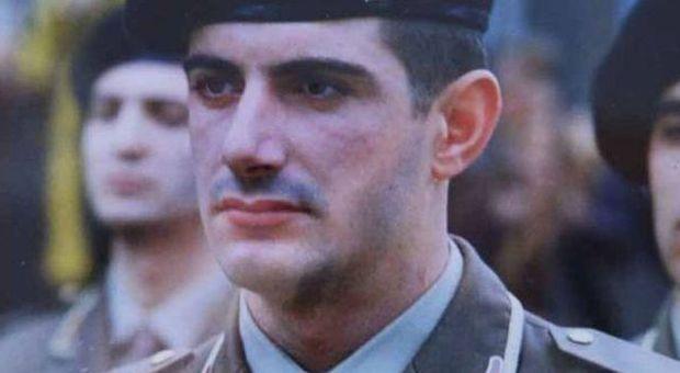 Attilio Manca durante il militare (foto: Lietta Granato)