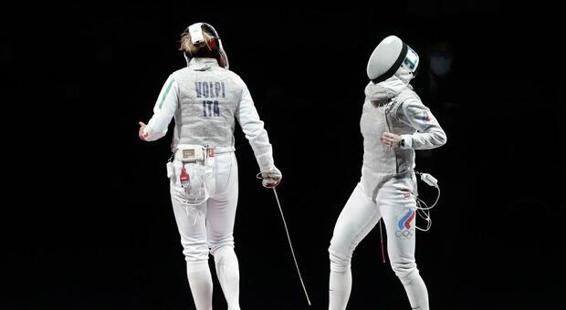 L'Italia del fioretto femminile è fuori dal podio: non accadeva dal 1992. Volpi sconfitta nella finale per il bronzo