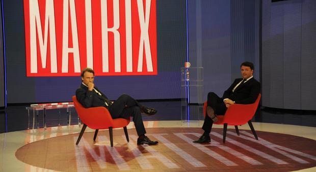 Nicola Porro e Matteo Renzi