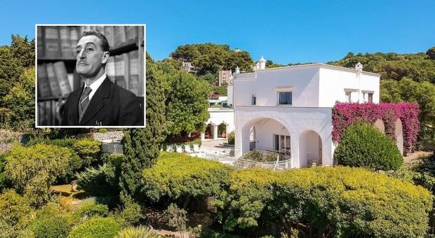 immagine Capri, in vendita la villa dove Totò trascorreva le vacanze: era del regista Bragaglia